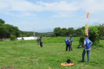 6月27日 富士見飛行場 ドローン飛行練習会