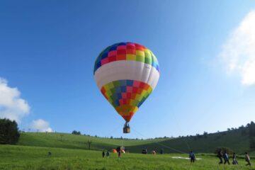 熱気気球体験コラボ
